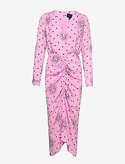 Birgitte Herskind - Aria  Dress - omlottklänning - pink sun - 1