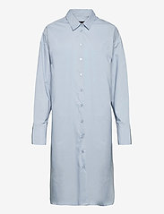 Nilly Shirt Dress - LIGHT BLUE