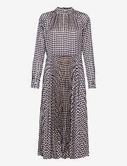 Birgitte Herskind - Nima Dress - midi kjoler - navy pepita - 0