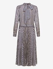 Birgitte Herskind - Nima Dress - midi kjoler - navy pepita - 1