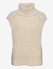 Birgitte Herskind - Vanya Knit Vest - strikveste - off white - 0