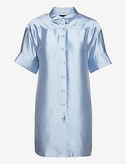 Birgitte Herskind - Melody Shirt Dress - skjortekjoler - light blue - 1