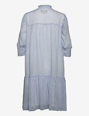 Birgitte Herskind - Liva Dress - sommerkjoler - light blue checks - 2