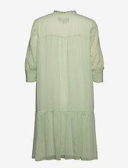 Birgitte Herskind - Liva Dress - sommerkjoler - light green checks - 1
