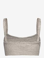 Birgitte Herskind - Paige Top - crop tops - light grey melange - 1