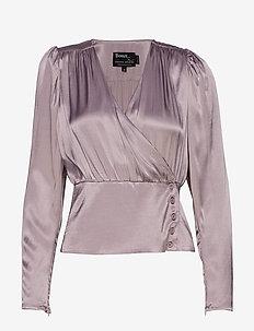 Alecia Blouse - bluzki z długimi rękawami - dust lavender