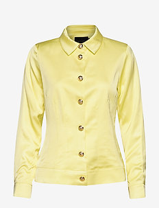 Barbett Jacket - kevyet takit - pastel yellow