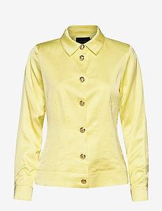 Barbett Jacket - light jackets - pastel yellow