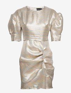 Baker Dress s/s - DISCO GLITTER