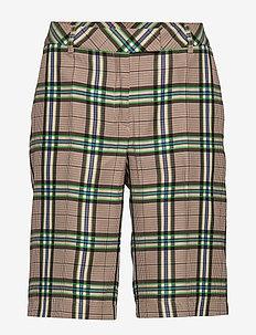 Para Shorts - bermudy - green checks