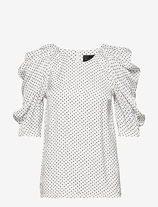 Charlotte Blouse - t-shirts - dots
