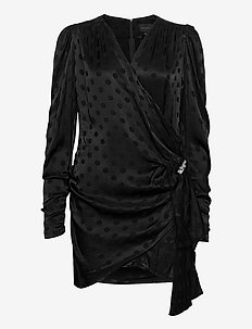 Circa Dress - wrap dresses - black