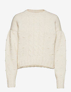 Ellie  Knitwear - swetry - off white