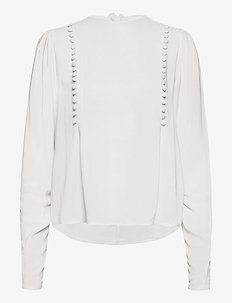 Leica Blouse - langermede bluser - off white