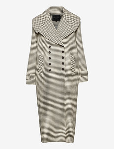 Kinsley Coat - trenchcoats - checks