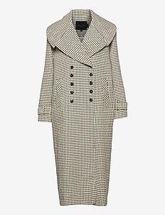 Kinsley Coat - trenchcoats - checks