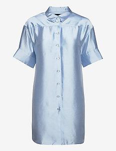 Melody Shirt Dress - blousejurken - light blue