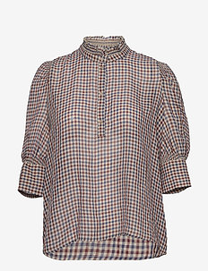 Fanny Blouse - blouses met lange mouwen - summer checks