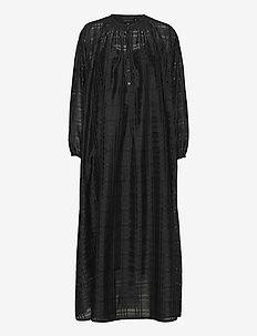 Karma Dress - skjortekjoler - black