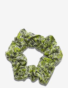 Scrunchie - haar accessoires - lime flower