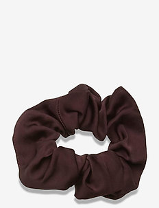 Scrunchie - haar accessoires - coffee brown