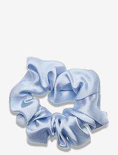 Scrunchie - haar accessoires - light blue