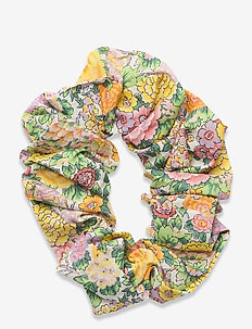 Scrunchie - haar accessoires - multi col. flower