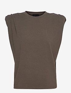 Sky T-Shirt - Ärmlösa blusar - dark army