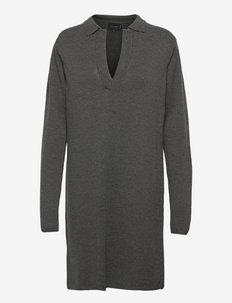 Harriet Dress - hverdagskjoler - dark grey