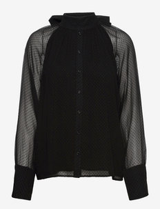 Othelia Blouse - langærmede bluser - black
