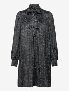 Dory Dress - sommerkjoler - snake grey