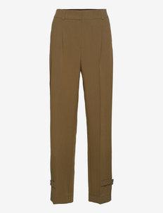 Logan Pants - slim fit bukser - deep army