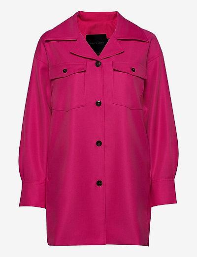 Amber Shirt - overshirts - pink