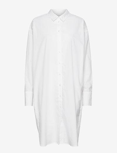 Nilly Shirt Dress - sommerkjoler - white