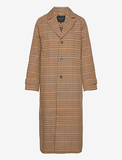 Bravo Coat - lette frakker - classy checks