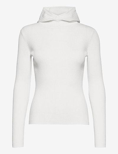 Babe Hoodie - trøjer - white