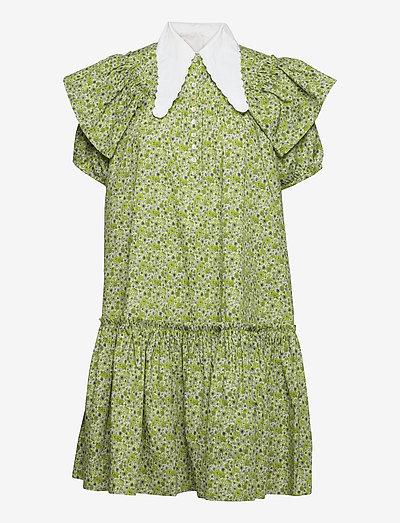Carlson Ltd. Dress - sommerkjoler - lime flower