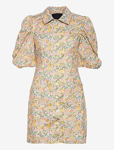 Ami Dress - short dresses - multi col. flower