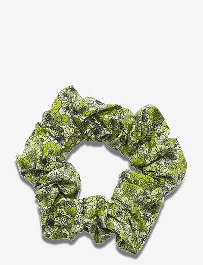 Scrunchie - hiusasusteet - lime flower
