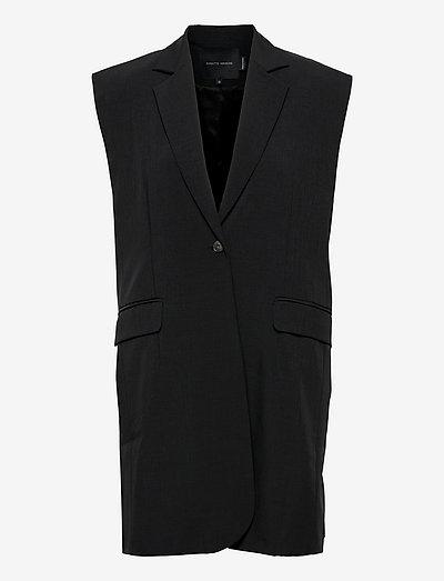 Alex Vest - puffer vests - black
