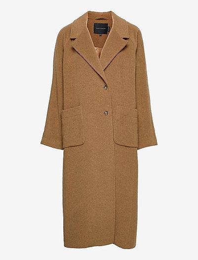 Morris Coat - wool coats - camel