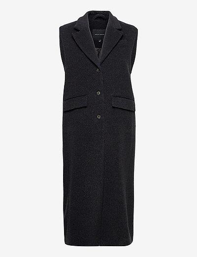 Gordan Vest - sleeveless blazers - grey