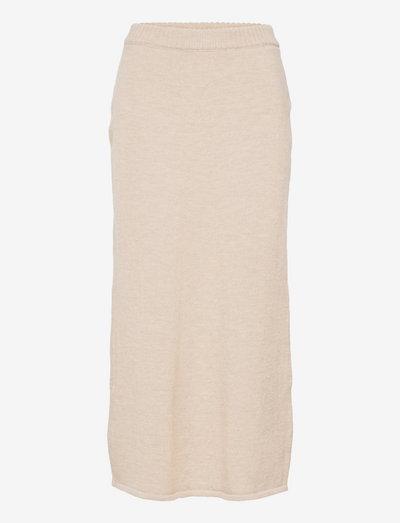 Irina Skirt - midi skirts - ligth grey