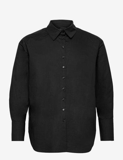 Lauder Shirt - denimskjorter - black