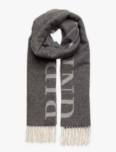 Scarf - vinterskjerf - grey