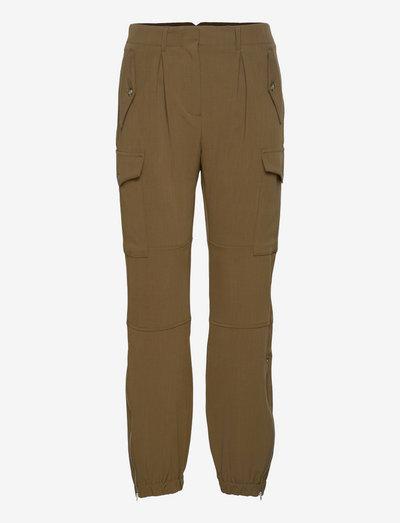 Dancer Pants - casual bukser - deep army