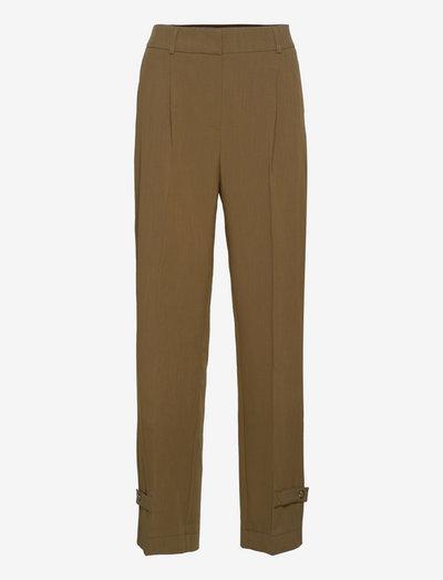 Logan Pants - slim fit trousers - deep army