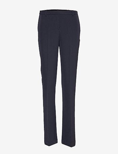 Nanna Pants - straight leg trousers - navy