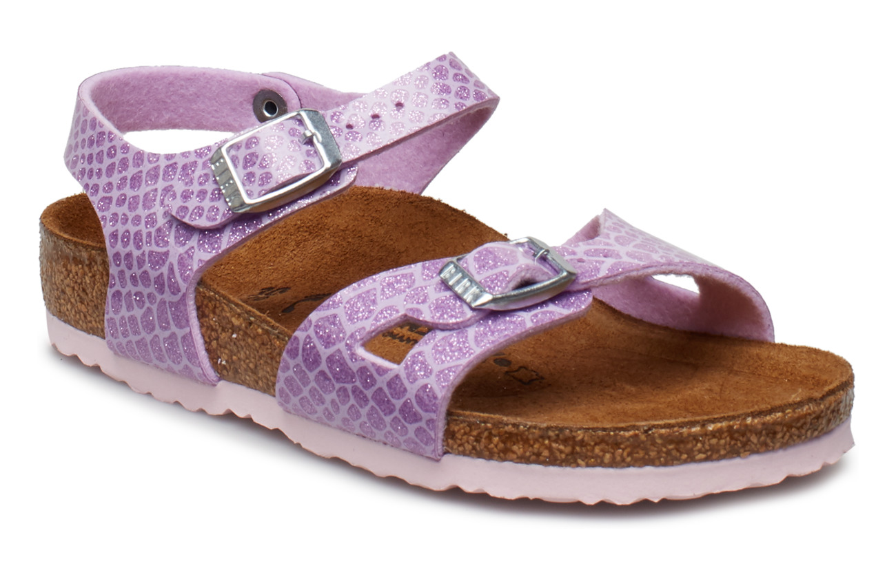 Birkenstock Rio - MAGIC SNAKE LILAC