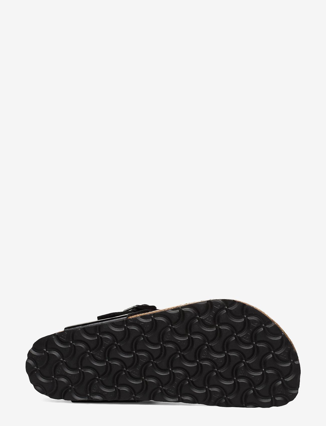 Birkenstock - Gizeh - flade sandaler - black patent - 4
